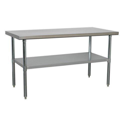 Sealey AP1560SS Stainless Steel Workbench 1.5 Metre