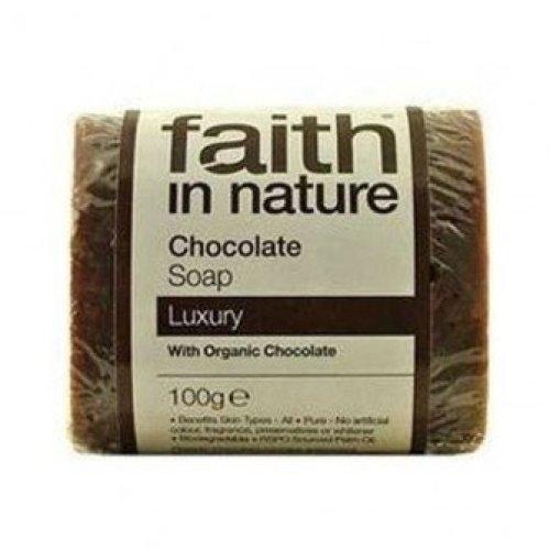 Faith In Nature - Chocolate Pure Veg Soap 100g