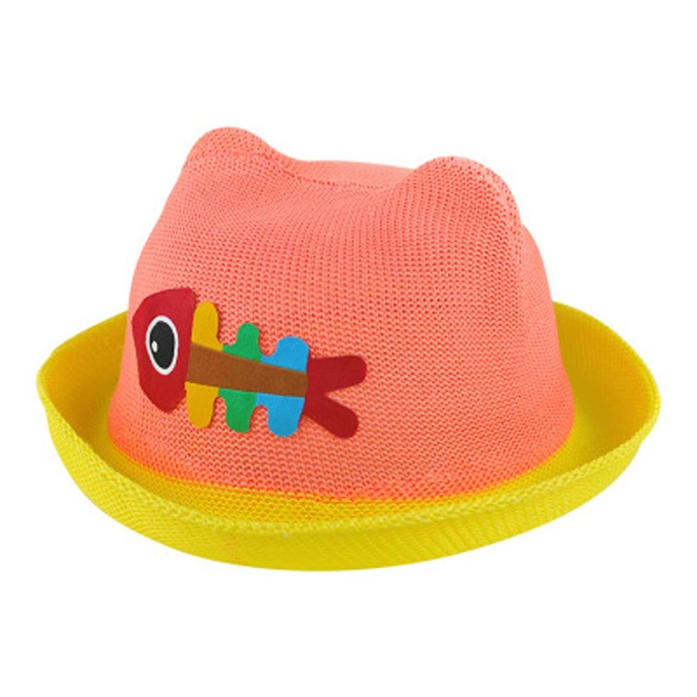 Summer Sun Hat Baby Boys And Girls Summer Hat Visor Baby Hat Straw Hat ... 59031cdfd2ad