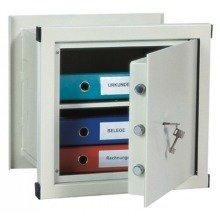 Wall Safe Key Lock Home Office Steel Rottner WN045