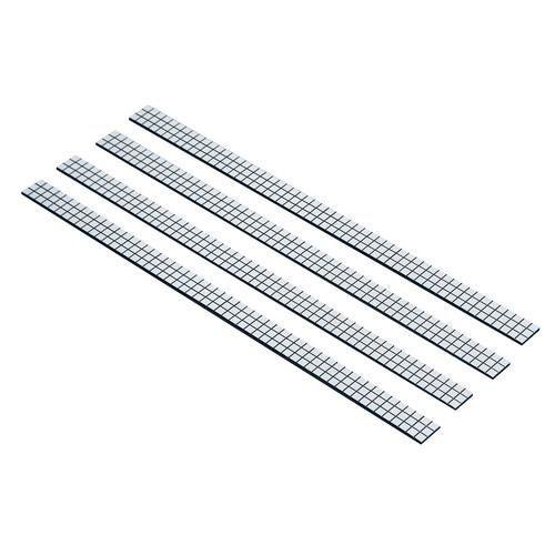 Chrome Strips Adhesive Flexible Stick On Trim Bumper Interior 17CM X 1CM