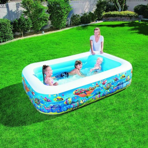 Bestway 90? X 60? X 22? Summer Garden Outdoor Play Pool