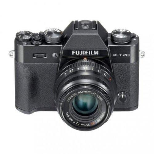 FUJI X-T20 Black + XF 35MM F2 R WR Black