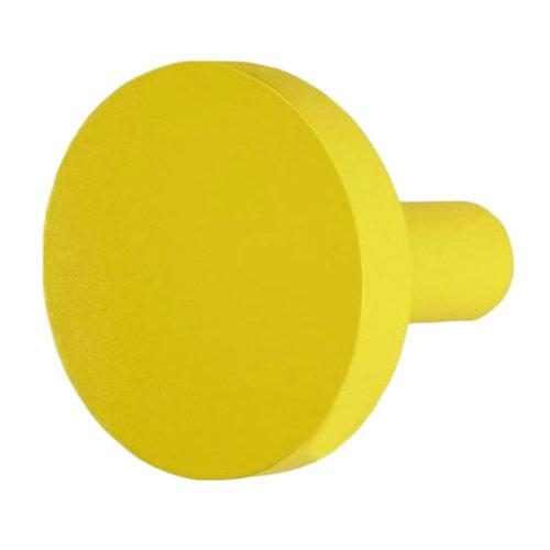 Pushpin Shape Design Coat Hook Hat Hook Creative Decorative Hook(Yellow)