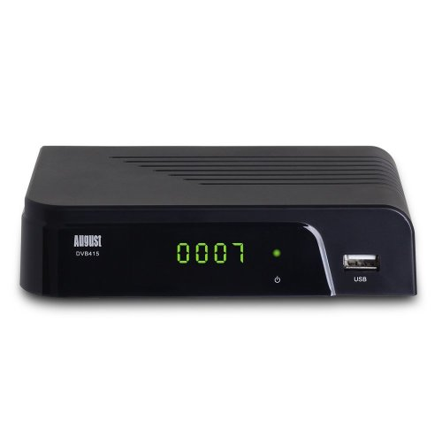 Freeview Box Recorder HD - August DVB415 - HDMI Set Top Box with PVR