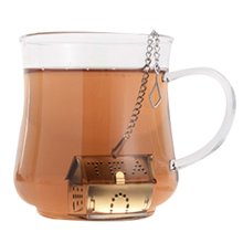 Stainless Steel Tea Strainer Tea Tea Bag Tea Filter Follicular Cute Creative