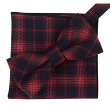 Fashion Casual Bow Tie Pocket Square Business Necktie Pocket Cloth NO.20