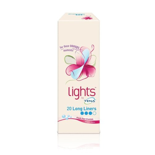 Lights by TENA 20 Long Liners