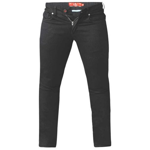 Duke Mens Claude King Size Tapered Fit Stretch Jeans
