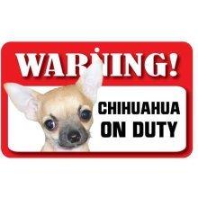 Smooth Coat Chihuahua Pet Sign