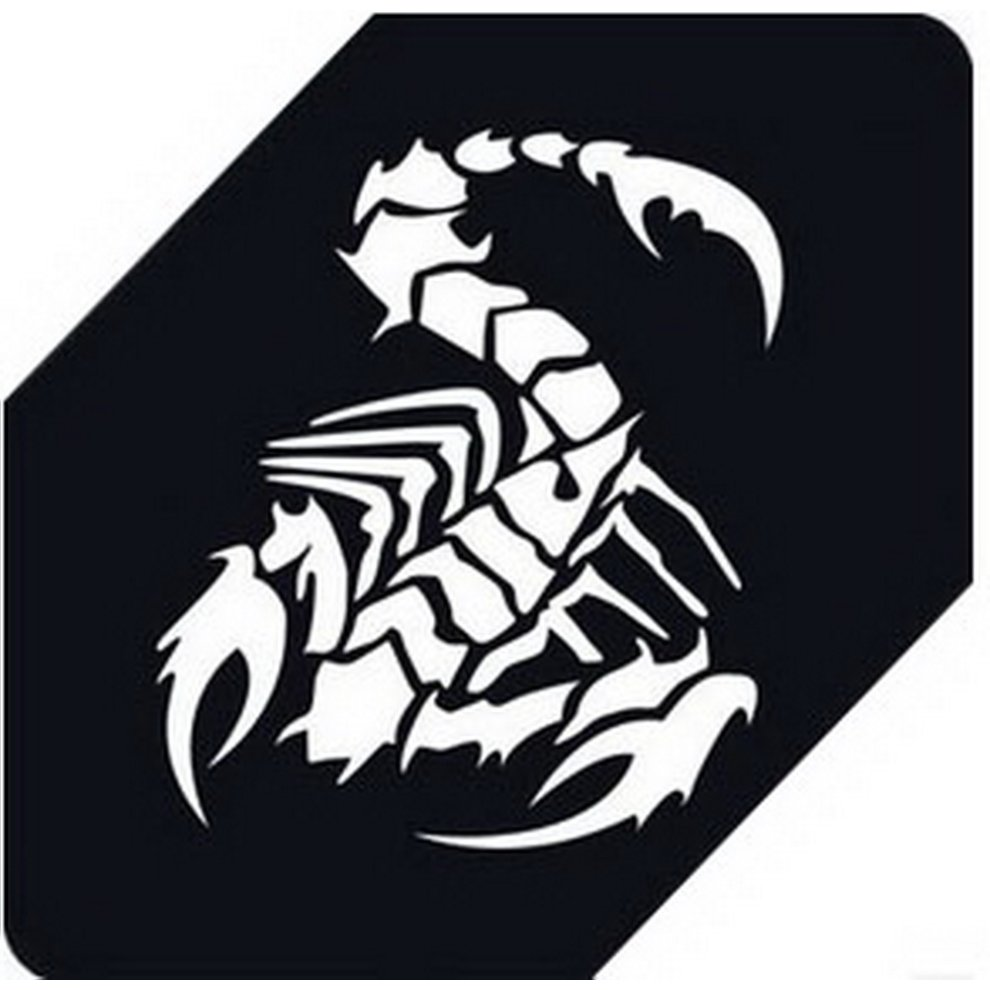 Scorpion car decals car sticker cool stickers car window sticker white 5 9