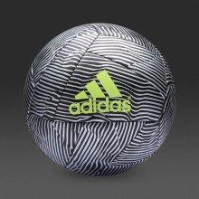 Adidas X Glider Football Size 5 Black/Silver Metallic/Yellow