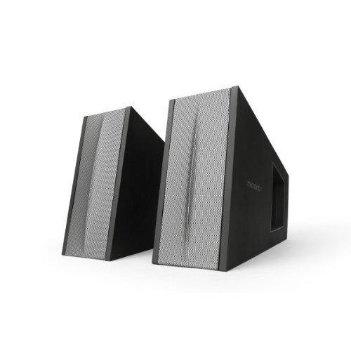 Microlab FC10 Triangle 2 0 Speaker System w Digital Signal Processor DSP On speaker Volume adjustment 30 Watt RMS Multi Colors