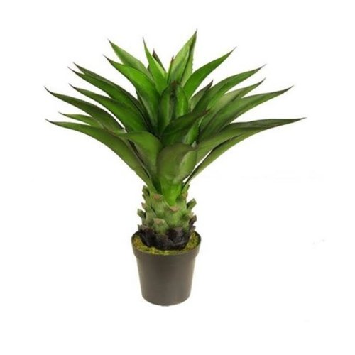 NorthLight 30.5 in. Decorative Potted Artificial Green Agave Americana Succulent Plant