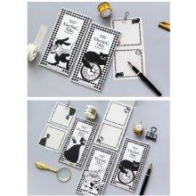 Alice in Wonderland Notebooks Memo Pads