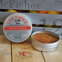 Rub Me Tender - Life of Spice Gourmet BBQ Rub (40g) - Paprika, Thyme and Garlic