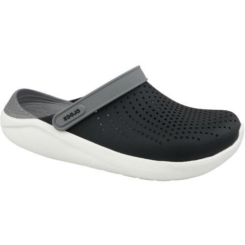 Crocs LiteRide Clog 204592-05M Mens Black slides