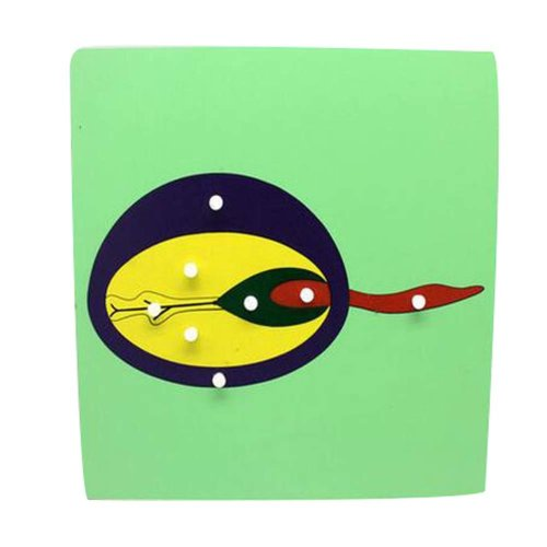 Tadpole,Children's Toy For 3-6 Years Old Lovely Jigsaw Puzzle Wooden Puzzle Game
