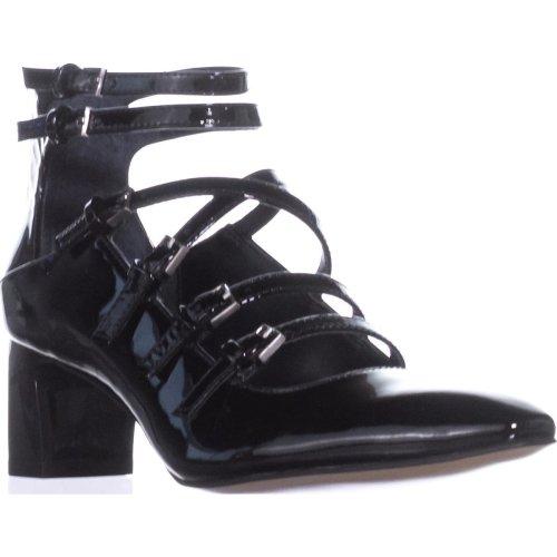 Calvin Klein Madlenka Strappy Heels, Black, 3 UK