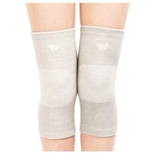 Simple Knee Brace Sleeve for Sports/Yoga/Dance/Arthritis/Joint Pain Gray (M)