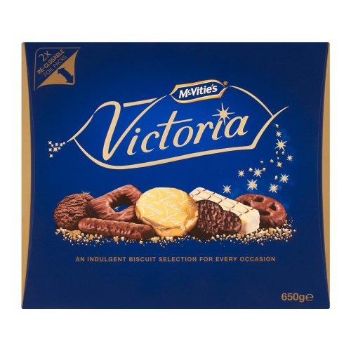 Mcvities Luxury Victoria Biscuits 650g