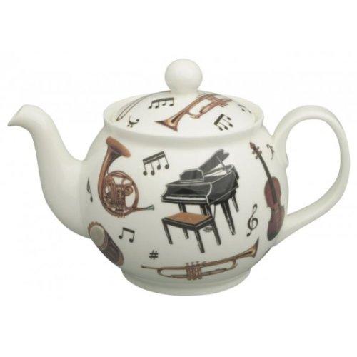 Roy Kirkham Bone China 6 Cup Teapot,Concert, Musical Instrument Design