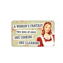 Fun Sign - A Woman's Fantasy: Two Men At Once