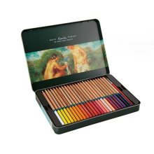 Professional Water-Soluble Colored Pencils Set of 48 Pencils Assorted Colors