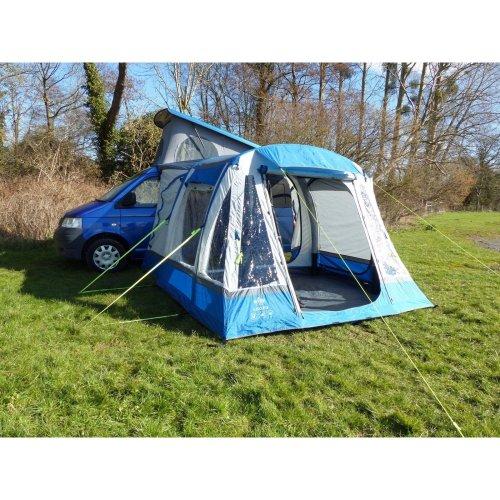 OLPRO Loopo Breeze Camper van Driveaway Awning (Blue/ Grey)