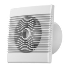 Premium Bathroom High Flow Extractor Fan 100mm Timer Pull Cord Humidistat