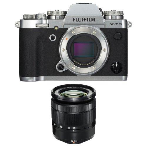 FUJI X-T3 Silver + XC 16-50mm F3.5-5.6 OIS II Black (White Box)