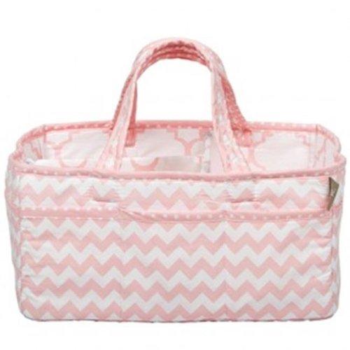 Trend Lab 100799 Pink Sky Storage Caddy