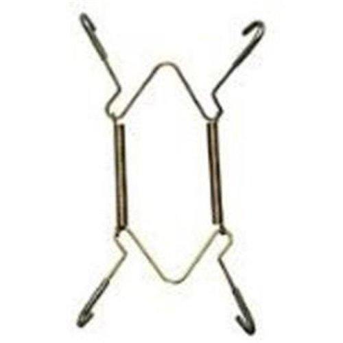 National Hardware 7165095 11-18 in. Plate Hangers, Brass N259-986