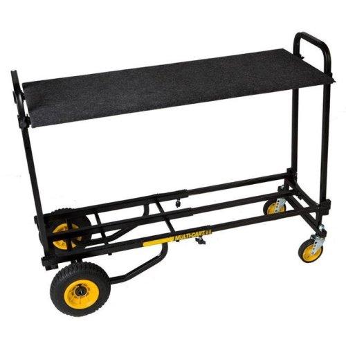 RocknRoller MultiCart RSH2 Carpeted Shelf for R2RT Multi-Cart