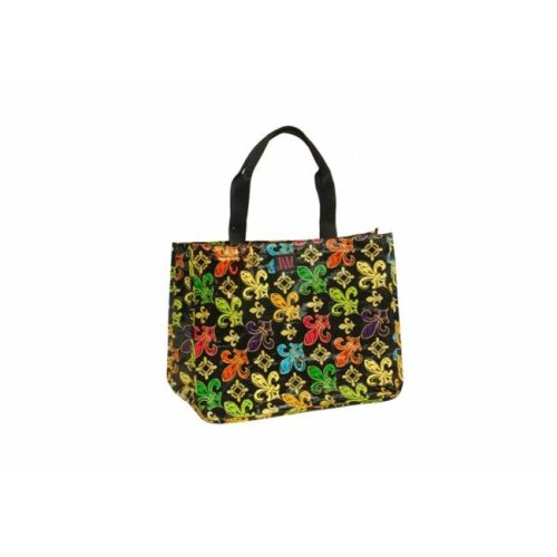 Joann Marie Designs P2RTBFDL Poly R. Tote – Black Fleur De Lis Pack of 6 on  OnBuy 0dadfe6fb34aa