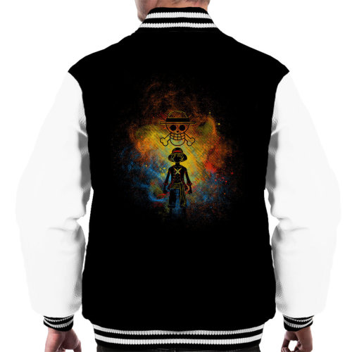 Pirate Art Monkey D Luffy One Piece Men's Varsity Jacket