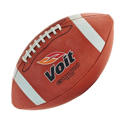 Voit 1376980 Enduro Rubber Football with Stitched Laces, Junior