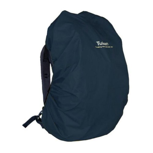 Outdoor Riding Backpack Rain Cover Waterproof Backpack Cover-40 L Navy