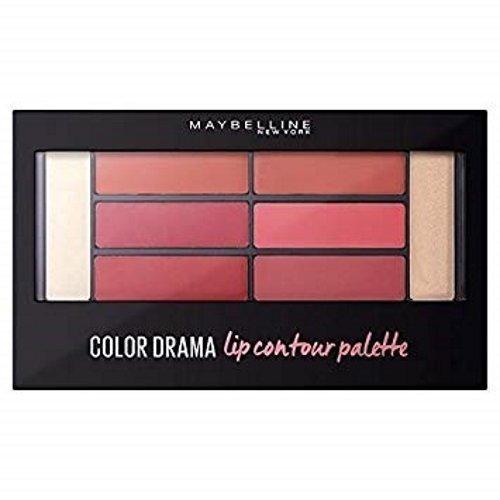 Maybelline Color Drama Lip Contour Palette Blushed Bombshell