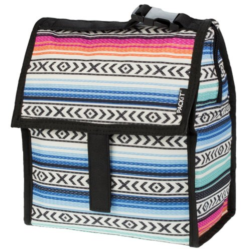 (fiesta) PackIt Kids' Freezable Lunch Bag | Personal Cooler for Kids