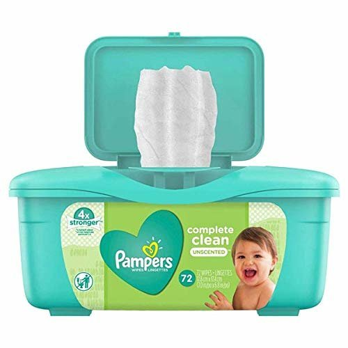 Pampers Baby Wipes Tub Baby Fresh Complete Clean 72-Count