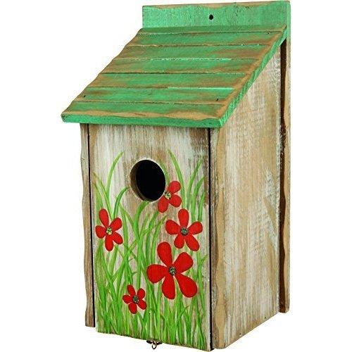 Trixie Nest Box For Birds, 15 x 14 x 28cm - Nesting New -  trixie nesting box new