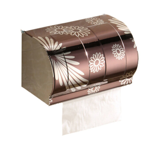 Bathroom Tissue Holder/Toilet Paper Holder,Stainless Steel,widen,brown