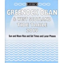 Laver's Greenock Oban & West Scotland Tide Table 2019