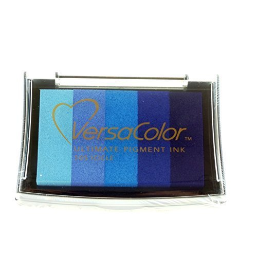 Tsukineko Versacolor Icicle 5-Colour Ink Pad