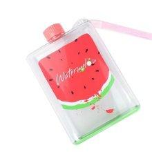 Cartoon Fruit Travel Cup Plastic Travel Mugs - watermelon