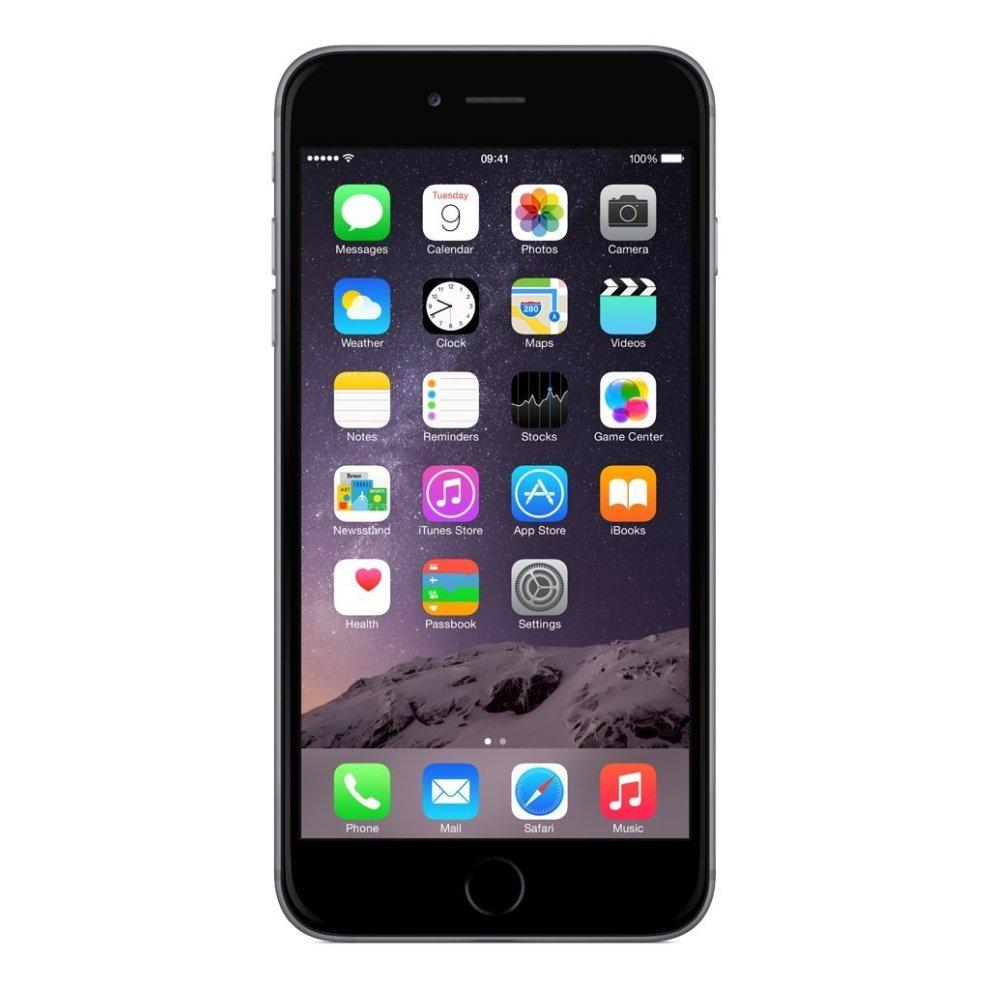 O2, 64GB Apple iPhone 6 Plus - Space Grey