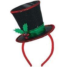 Christmas Diva Headband 28cm x 20cm -