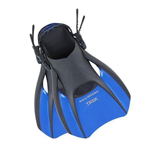 U S Divers Trek Fin Compact Snorkel Fins for Travel