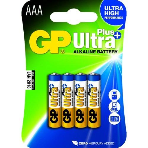 GP Batteries Ultra Plus Alkaline AAA Alkaline 1.5V non-rechargeable battery